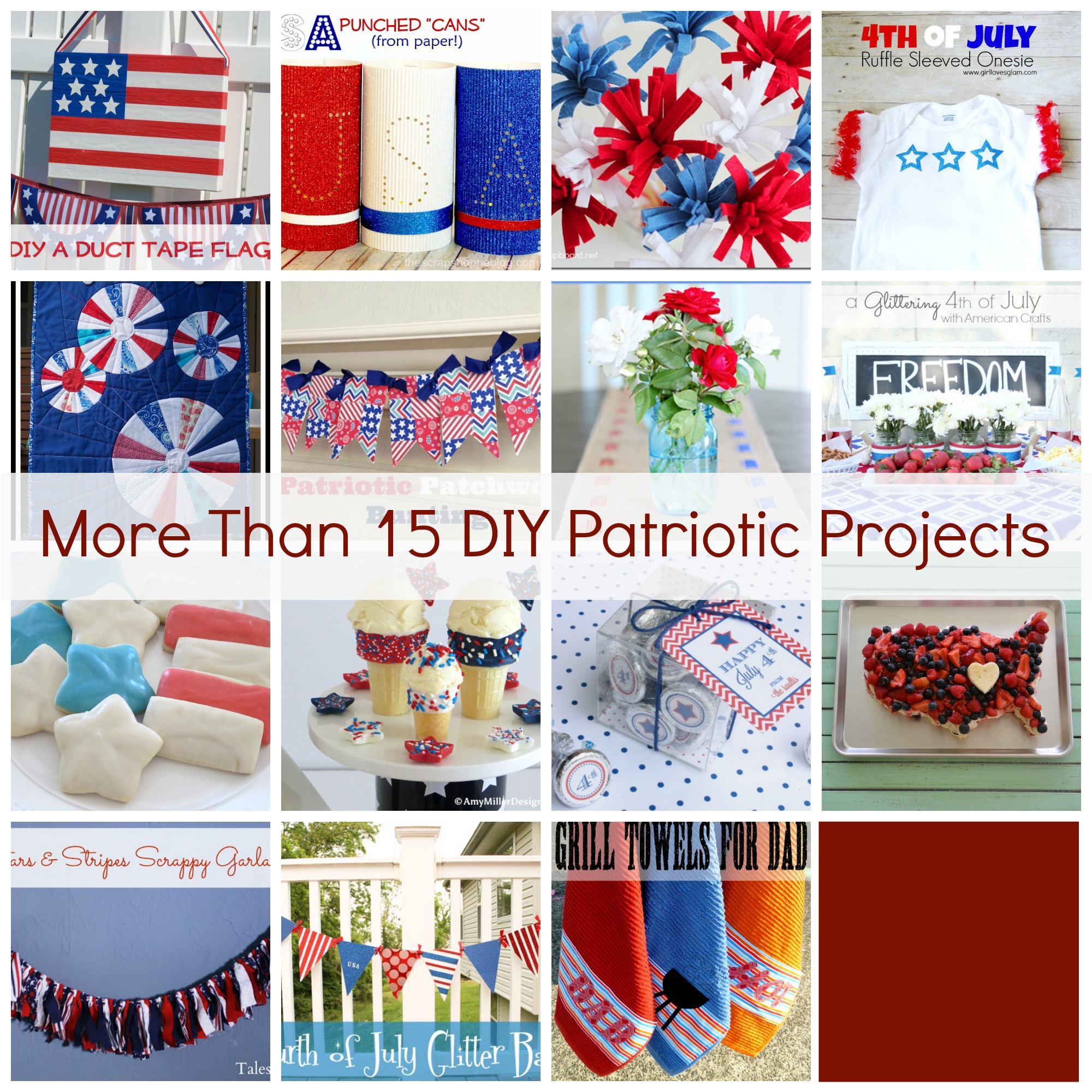 Show & Tell No. 54: Amazing DIY Patriotic Projects