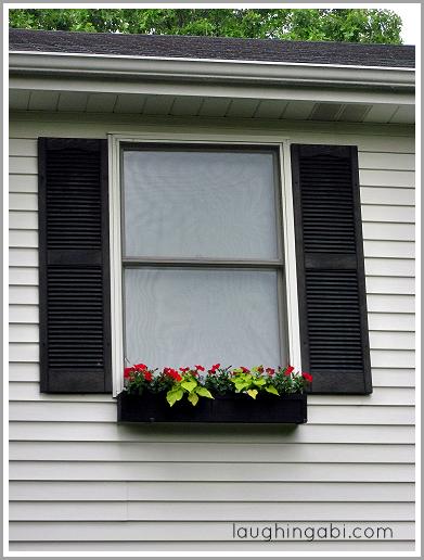 DIY Window Box via Laughing Abi