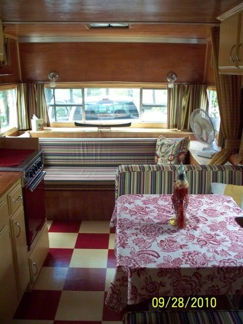 vintage trailer makeover
