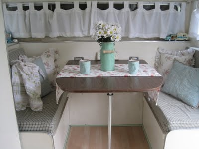 vintage cottage camper