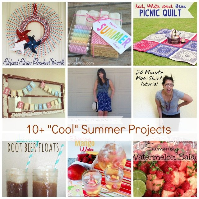 Show & Tell No. 55: Summer Craft and DIY Projects