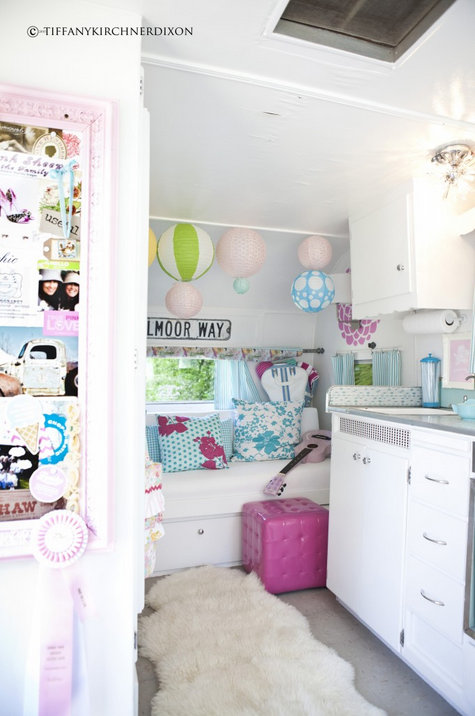 The Fancy Farmgirl camper makeover