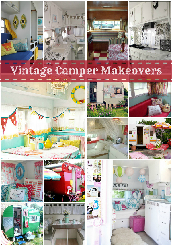 Vintage Camper Makeovers