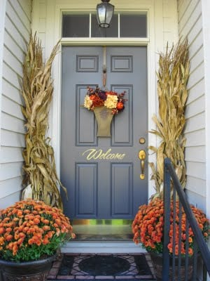 Fall Porch Decorating Ideas - SNAP!