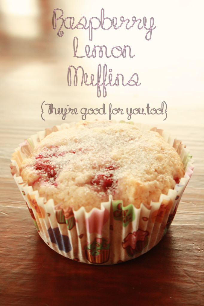 Raspberry Lemon Muffins via A Mouse in My Kitchen