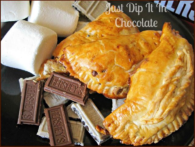 Smores Empenada via Just Dip it in Chocolate