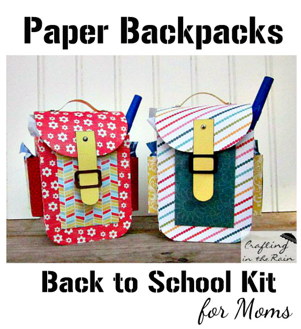 Back to school survival kits via Crafting in the Rain