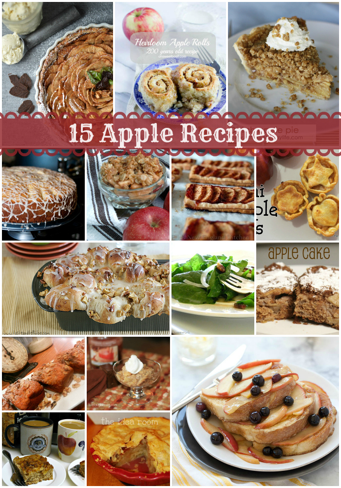 A is for apple & delicious apple recipes