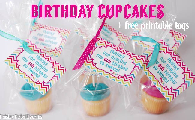 Easy Classroom Birthday Treats