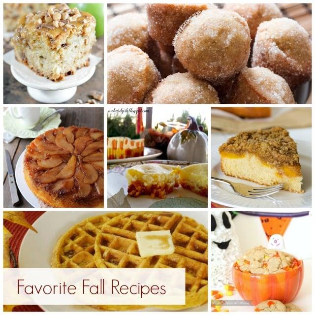 Favorite Fall Recipes