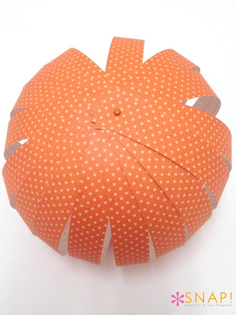 Paper Pumpkin Tutorial