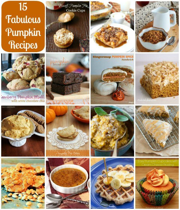 15 Fabulous Pumpkin Recipes