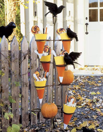 Candy cone decorations