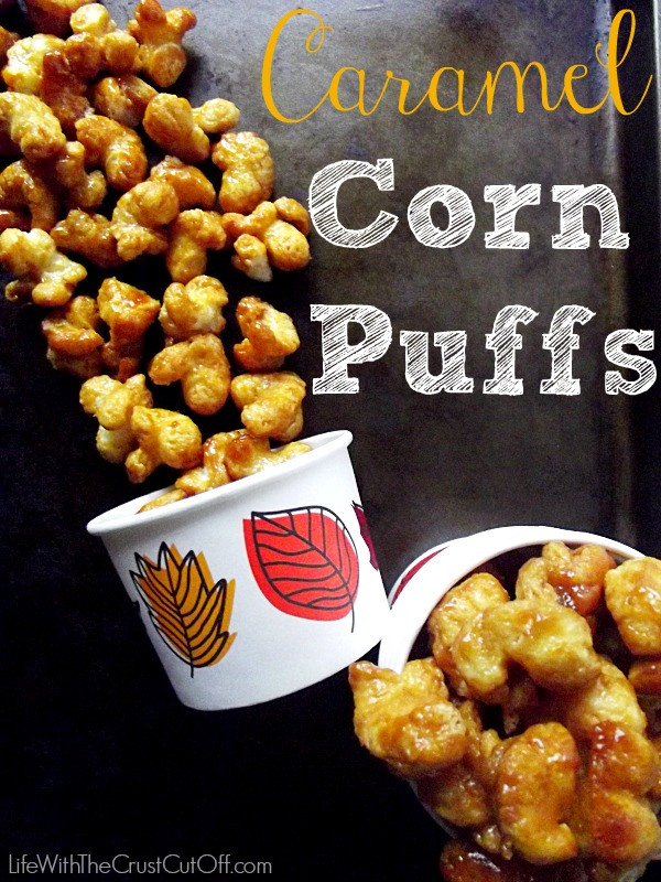 Caramel Corn Puffs via Life with the Crust Off