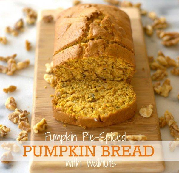 Pumpkin Bread via Food Folks Fun