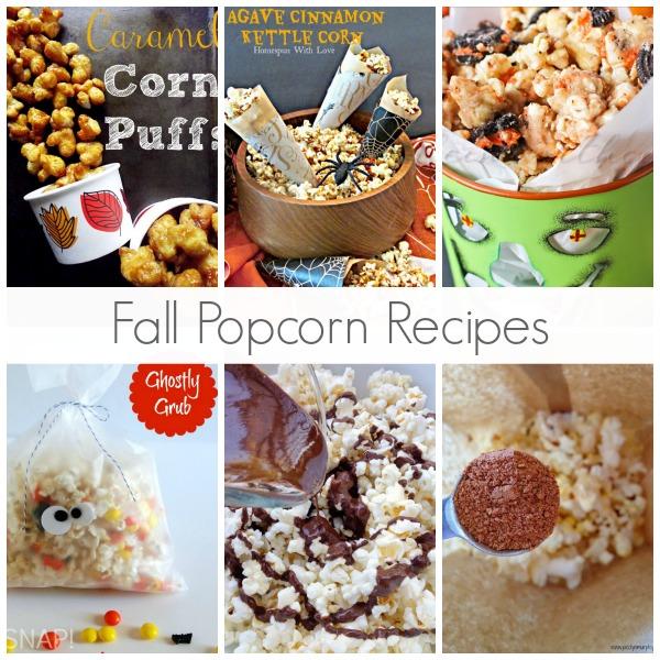 Fall Popcorn Recipes