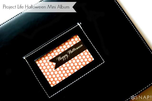 Project life halloween mini book 2