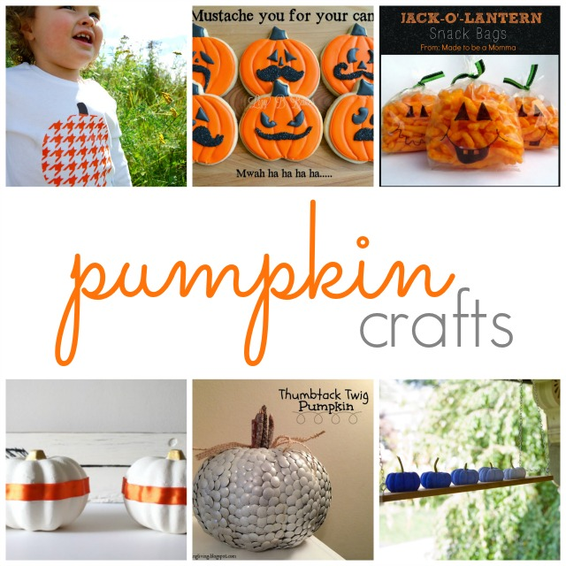 Show & Tell No. 69: Fun Pumpkin Crafts