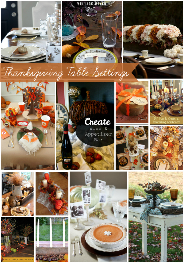 Thanksgiving table settings tauni co Cheap thanksgiving table setting ideas