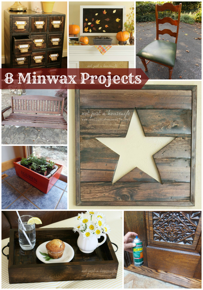 8 Minwax Projects