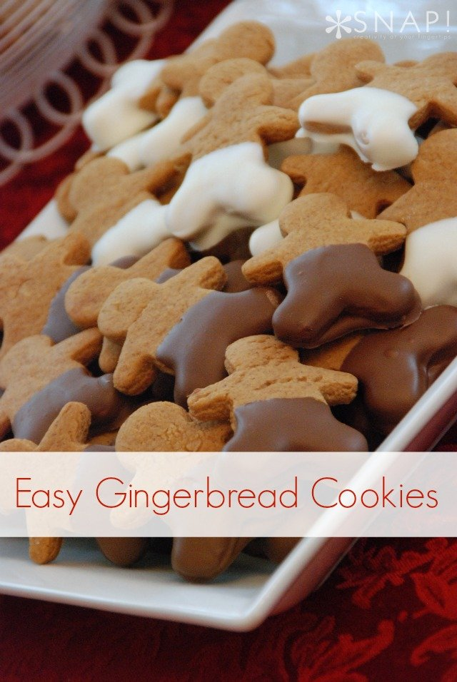 Easy Gingerbread Cookie Recipe