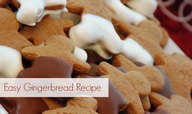 Easy Gingerbread Recipe via SNAP!