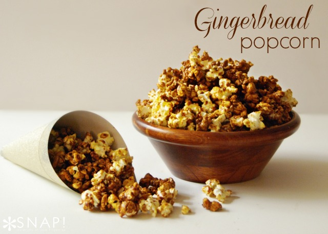 Gingerbread Popcorn Recipe by Tauni Everett