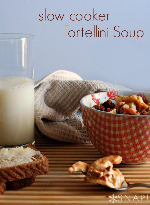 Slow Cooker Tortellini Soup Recipe