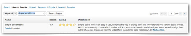 The Best Social Media Icon Plugin