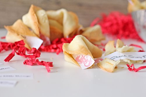 Homemade Fortune Cookies from Kleinworth & Co.