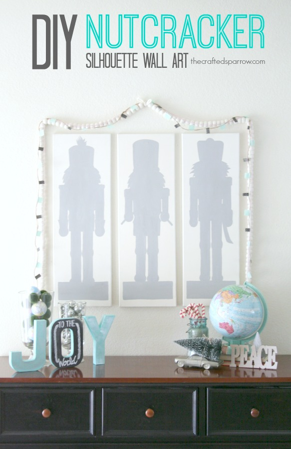 DIY Nutcracker Wall Art