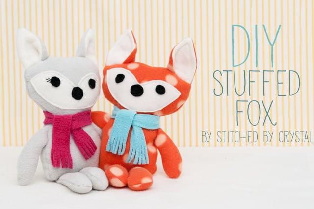 DIY Stuffed Fox