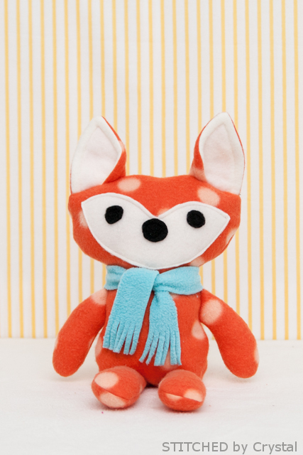 DIY Stuffed fox 2