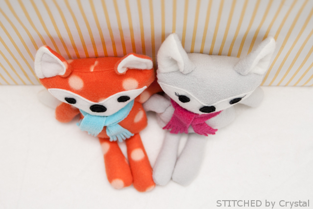 DIY Stuffed fox 4
