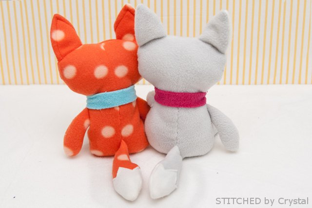 DIY Stuffed fox 5