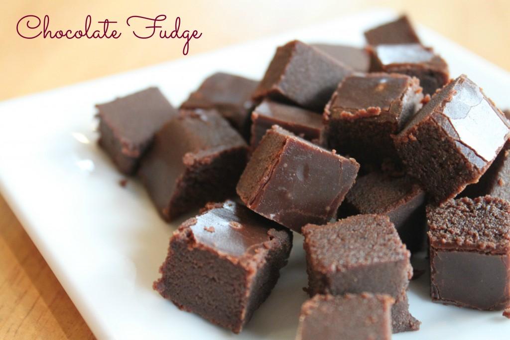 Chocolate Fudge via Keep it Simple Sweetie