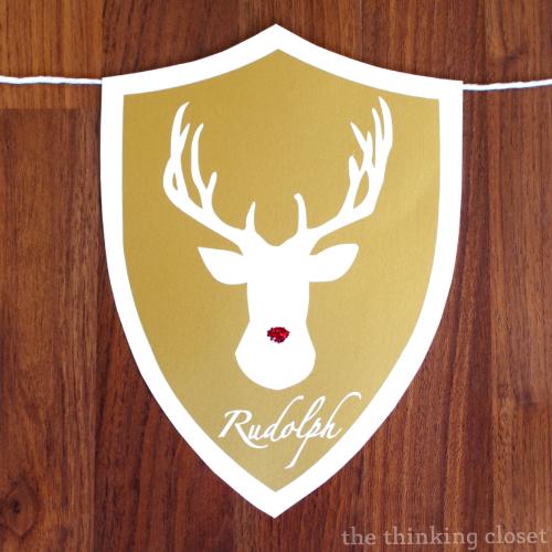 RudolphDeerHead