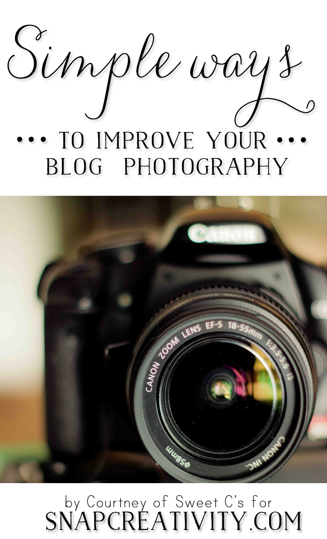 Easy Ways to Improve Your Blog Photography
