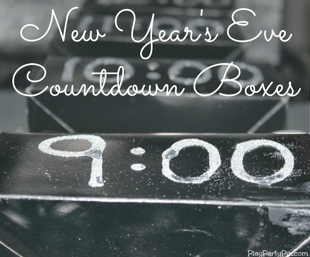 New Years countdown boxes