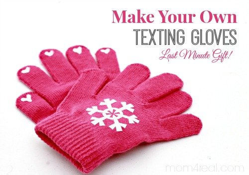 DIY Texting Gloves