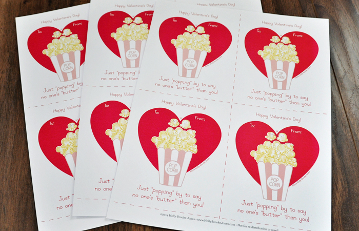 Superb image pertaining to popcorn valentine printable