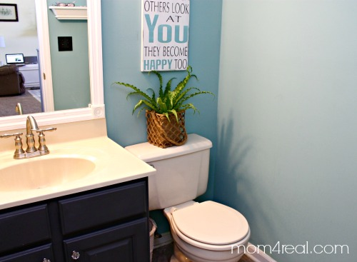 Budget Bathroom Makeover Including Framing Out Your Builder Grade