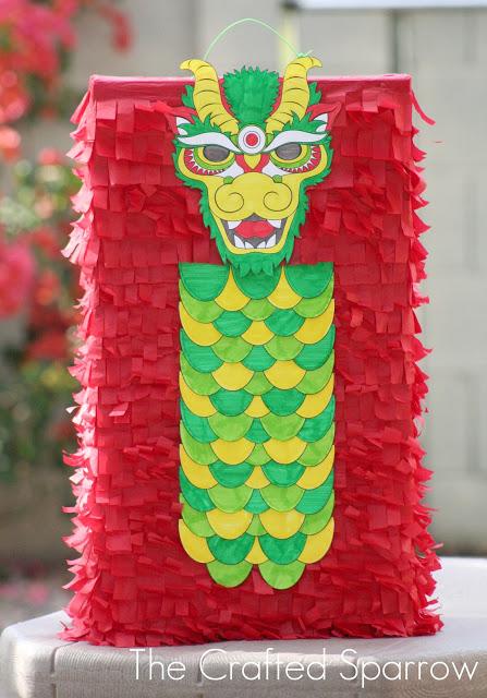 DIY Dragon Pinata