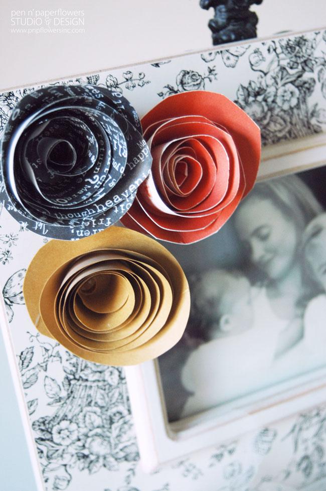 How to make easy diy spiral paper flowers easy diy paper flowers 5660wm mightylinksfo