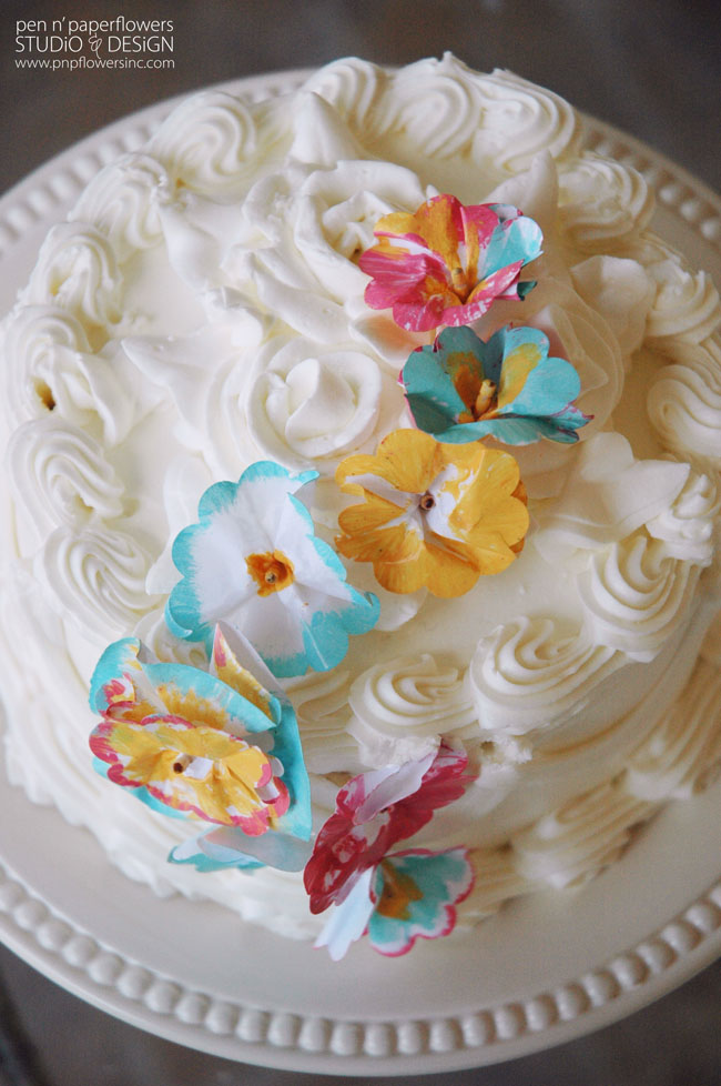 Hand-Painted-Paper-cake-flowers-1271