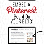 How to Embed a Pinterest Board on WordPress