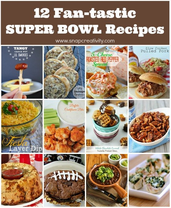 12 Fan-tastic Super Bowl Recipes