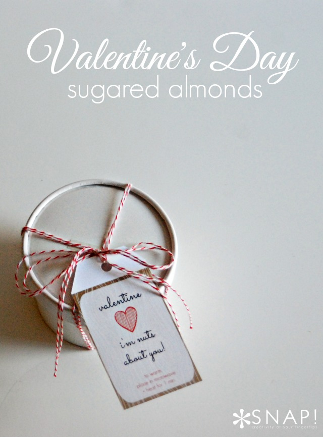 Valentine's Day Sugared Almonds