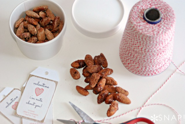 Valentine's Sugared Almonds + a Pinterest Party