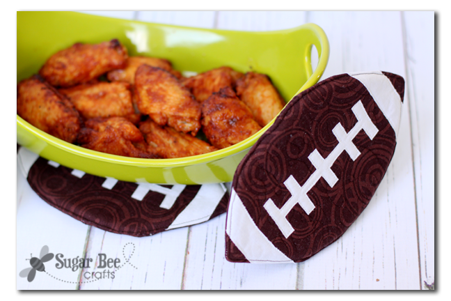 DIY Football Pot Holder